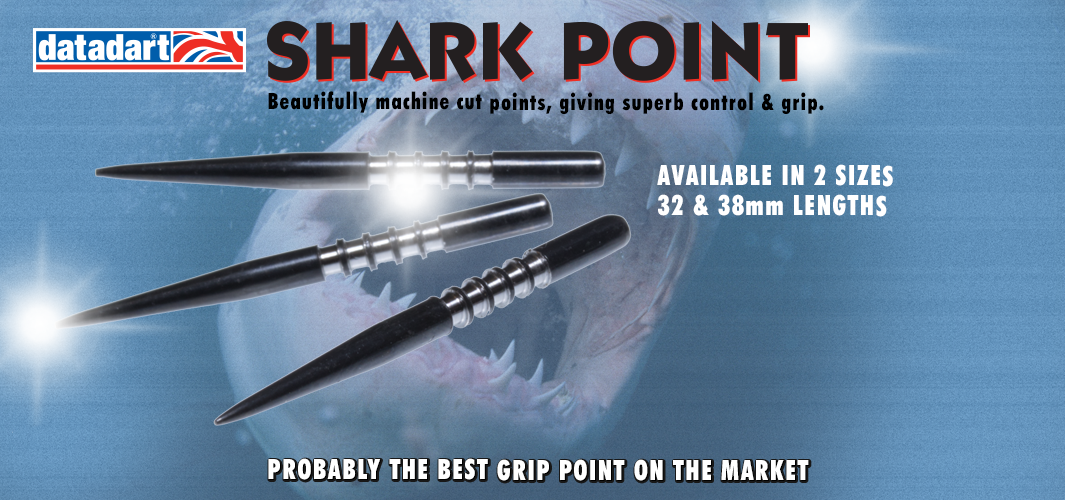 Shark dart points